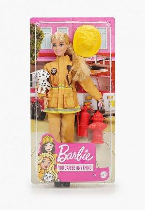Кукла Barbie пожарный. Цвет: разноцветный
