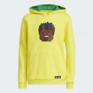 Худи x LEGO® Big Kids Donovan Mitchell adidas. Цвет: желтый