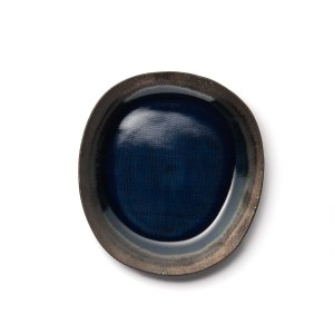 Тарелка La Redoute. Цвет: синий