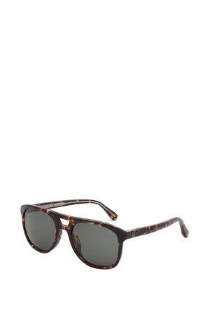 Очки солнцезащитные Dunhill. Цвет: черепаховый