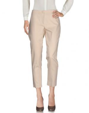 Повседневные брюки COMPAGNIA ITALIANA. Цвет: бежевый
