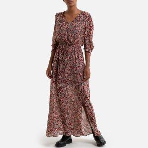 Платье La Redoute. Цвет: красный
