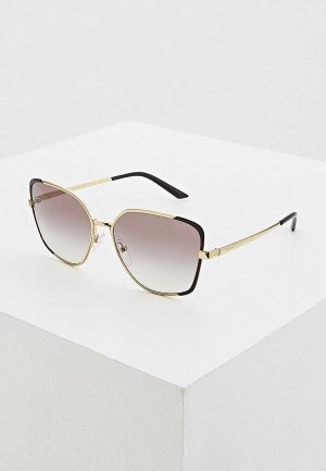 Очки солнцезащитные Prada PR 60XS AAV0A7. Цвет: золотой