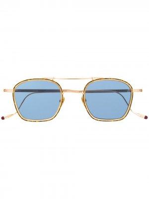 Солнцезащитные очки Baudelaire Lynx Jacques Marie Mage. Цвет: золотистый