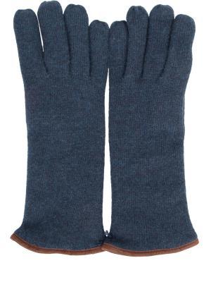 Перчатки Svevo. Цвет: синий