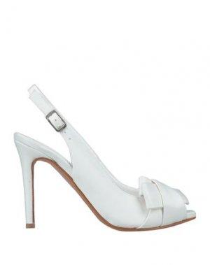 Сандалии ALBANO. Цвет: белый