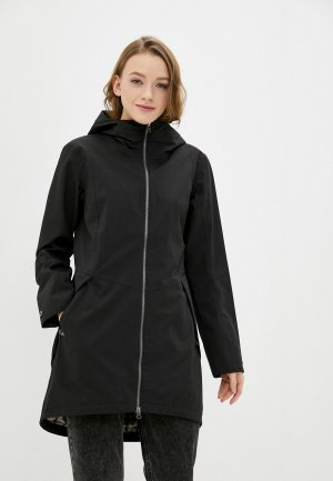 Куртка Didriksons FOLKA. Цвет: черный