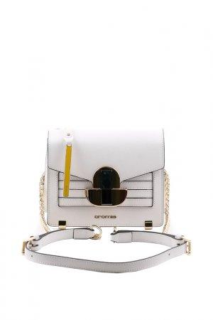 Сумка женская Cromia. Цвет: белый