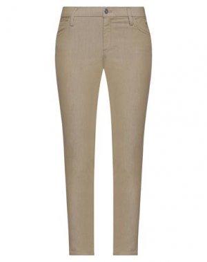 Джинсовые брюки CYCLE. Цвет: хаки
