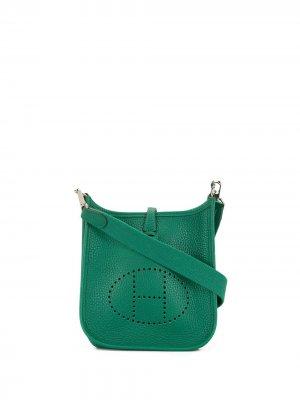 Сумка на плечо Elelyne TPM 2018-го года Hermès. Цвет: зеленый