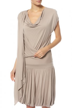 Платье Givenchy. Цвет: серый