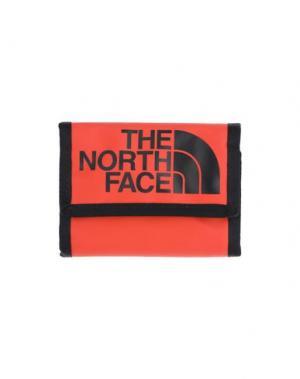 Бумажник THE NORTH FACE. Цвет: красный