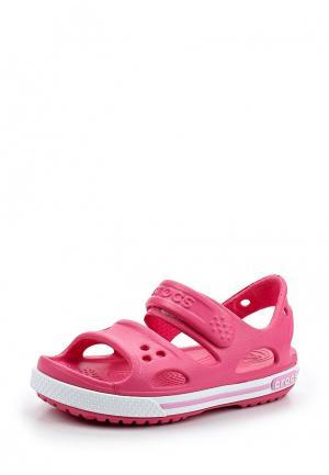 Сандалии Crocs Crocband II Sandal PS. Цвет: розовый