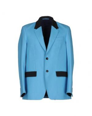 Пиджак DEPARTMENT 5. Цвет: лазурный