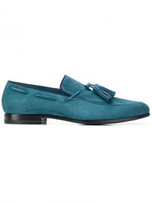 Tassel detail loafers Fabi. Цвет: синий