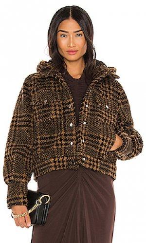 Куртка gabbi Veronica Beard. Цвет: коричневый