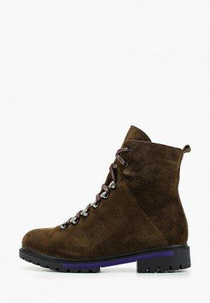 Ботинки Laura Valorosa. Цвет: коричневый