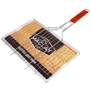 Решетка гриль для мяса 22 х 34 55 см, lux, средняя Maclay