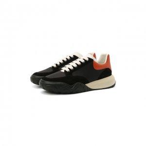 Комбинированные кроссовки Alexander McQueen. Цвет: разноцветный