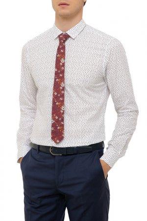 Рубашка Cacharel. Цвет: vr030 белый, бордовый