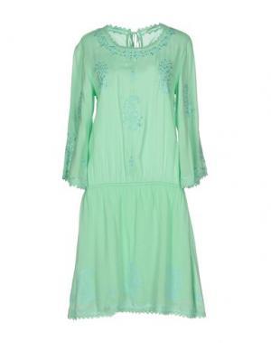 Короткое платье FAIRLY. Цвет: светло-зеленый