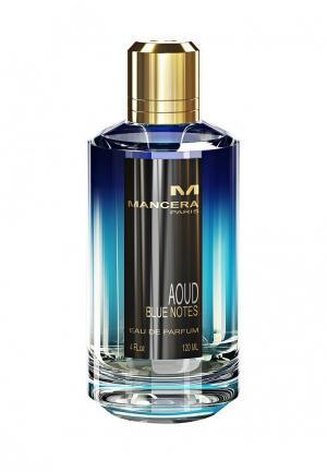 Парфюмерная вода Mancera AOUD BLUE NOTES 60 мл. Цвет: прозрачный