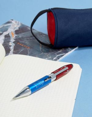 Шариковая ручка с дизайном Spiderman X Marvel Cross. Цвет: мульти
