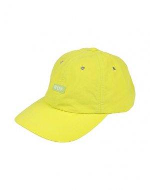 Головной убор HUF. Цвет: желтый