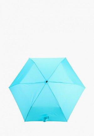Зонт складной Doppler. Цвет: бирюзовый