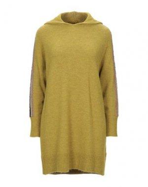 Короткое платье ANNARITA N TWENTY 4H. Цвет: зеленый-милитари