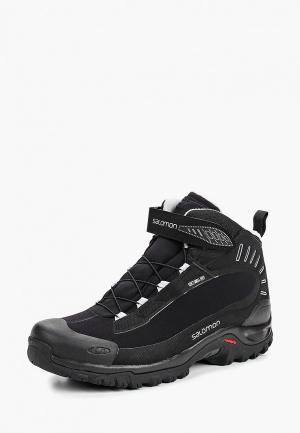 Ботинки Salomon DEEMAX 3 TS WP. Цвет: черный