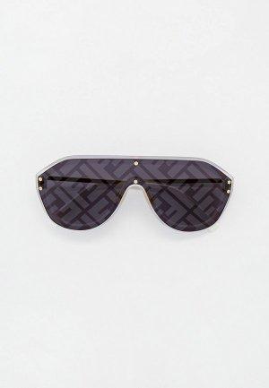 Очки солнцезащитные Fendi FF M0039/G/S 83I. Цвет: белый