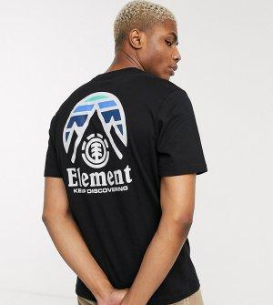 Черная футболка эксклюзивно для ASOS-Черный Element