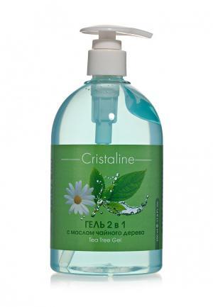 Гель Cristaline 2 в 1 с маслом чайного дерева 500 мл