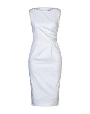 Платье до колена MAX MARA. Цвет: белый