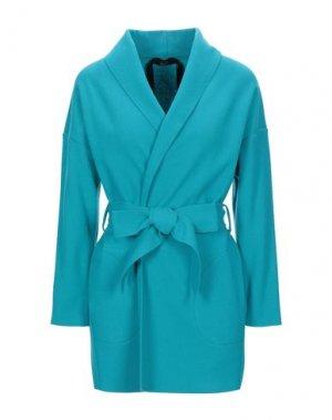 Пальто CARLA G.. Цвет: бирюзовый