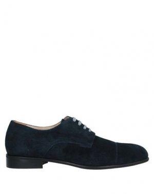 Обувь на шнурках BRUNO MAGLI. Цвет: темно-синий