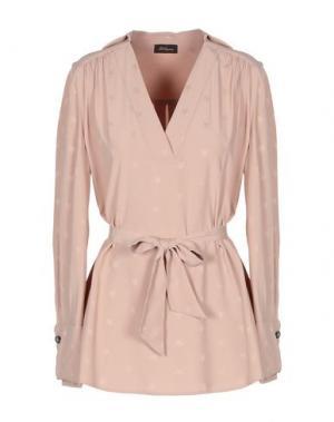 Блузка LES COPAINS. Цвет: телесный