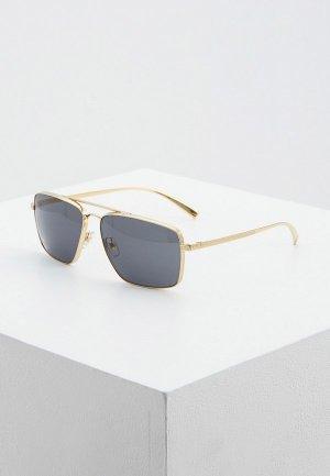 Очки солнцезащитные Versace 0VE2216 100287. Цвет: золотой