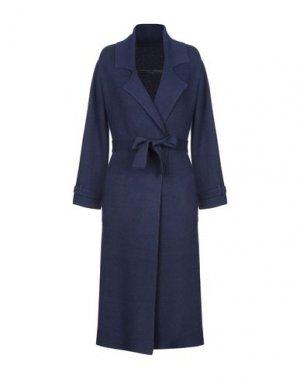Легкое пальто FRENCH CONNECTION. Цвет: синий
