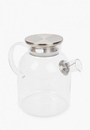 Чайник заварочный Kimberly. Цвет: прозрачный