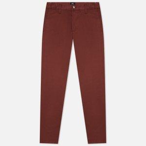 Мужские брюки 45 Chino PFD Compact Twill 9 Oz Edwin. Цвет: бордовый