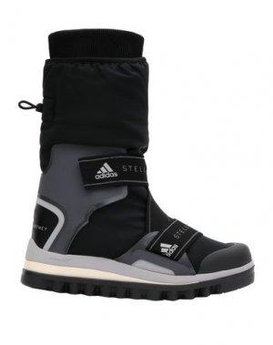 Полусапоги и высокие ботинки ADIDAS by STELLA McCARTNEY. Цвет: черный