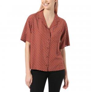 Рубашка Tipper VANS. Цвет: красный