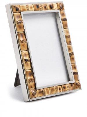 Бамбуковая рамка для фотографий Lorenzi Milano. Цвет: коричневый