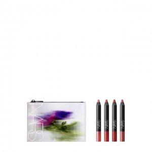 Набор натуральных матовых карандашей для губ Tribulation NARS. Цвет: бесцветный