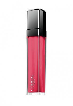Блеск для губ LOreal Paris L'Oreal Infaillible, Мега Блеск, Безупречный, кремовый, оттенок 109, Борись за него, 8 мл. Цвет: розовый