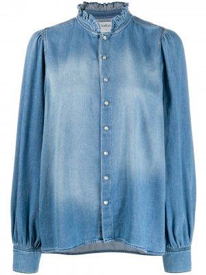 Джинсовая рубашка Axelle Ba&Sh. Цвет: синий