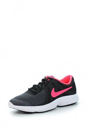 Кроссовки Nike GIRLS REVOLUTION 4 (GS) RUNNING SHOE. Цвет: черный