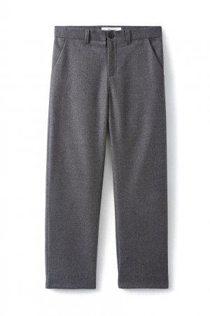 Серые брюки Félix Bonpoint. Цвет: серый